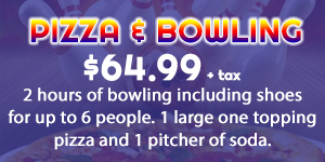 Pizza & Bowling Pack