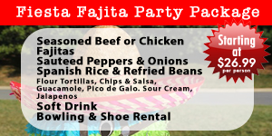 Fiesta Fajita Party Pack
