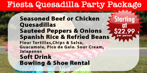 Fiesta Quesadilla Party Pack