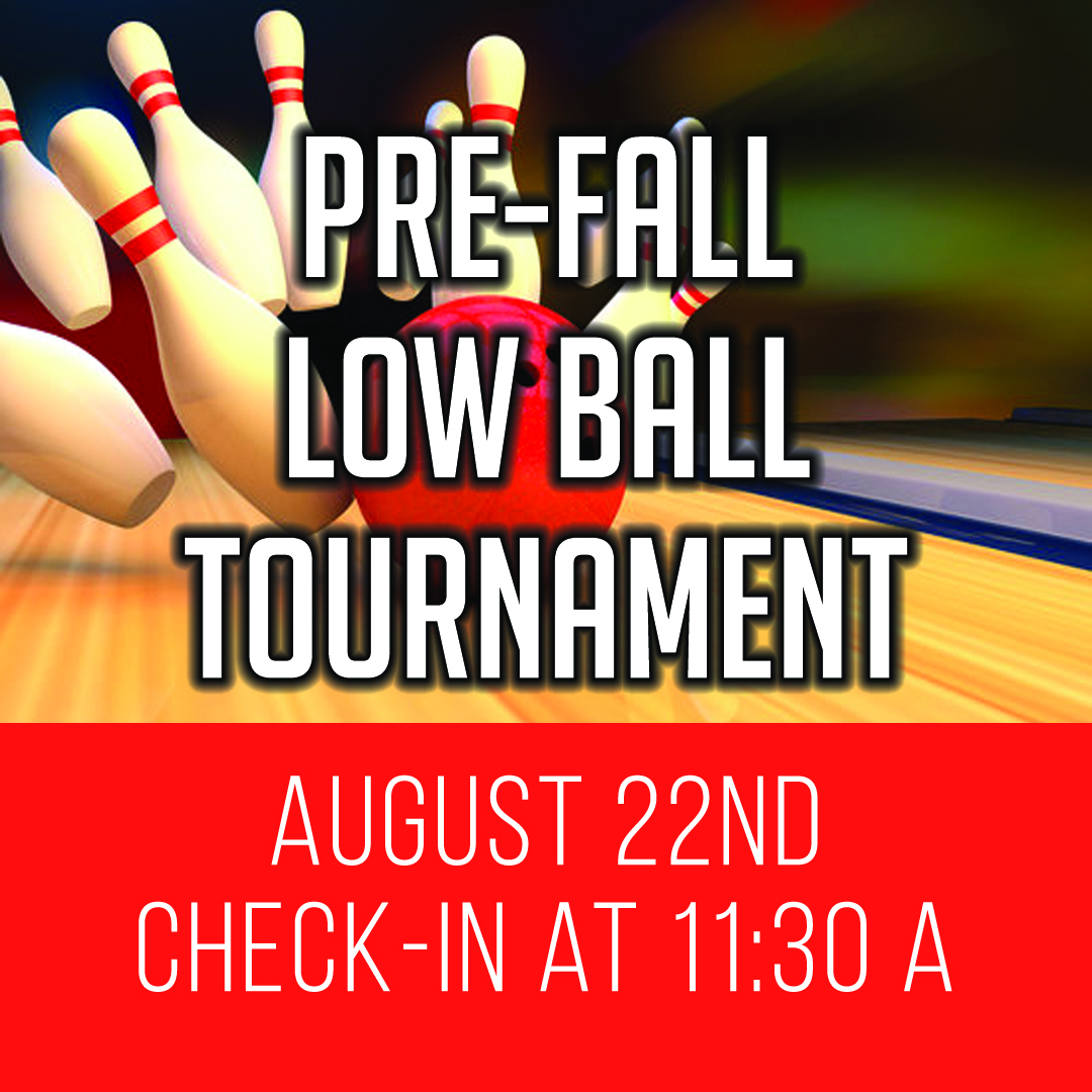 Pre Fall League Low Ball Tournament Time To Spare